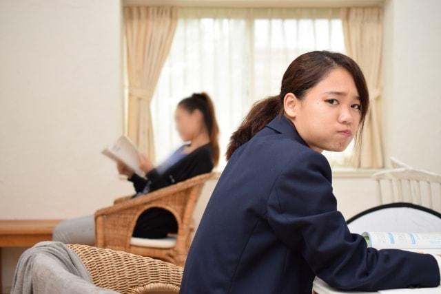 親と会話できない状態にある学生