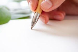 自分の得意を紙に書き出してみる