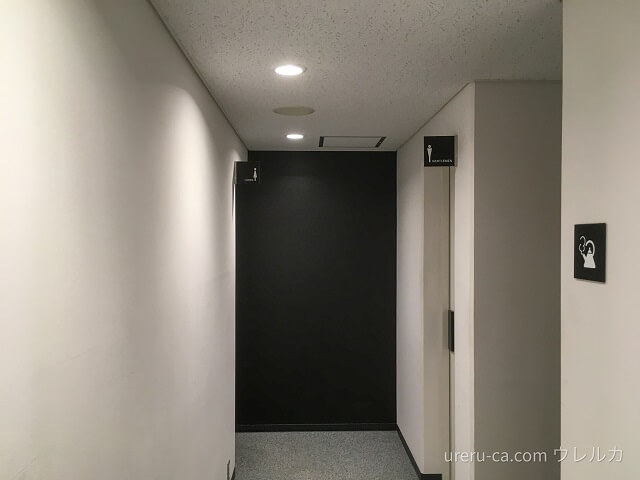 ゴリラクリニック大阪心斎橋院の院外トイレは管理がバッチリ