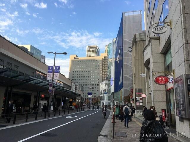 ゴリラクリニック大阪梅田院に向かう途中で見えるミズノのお店