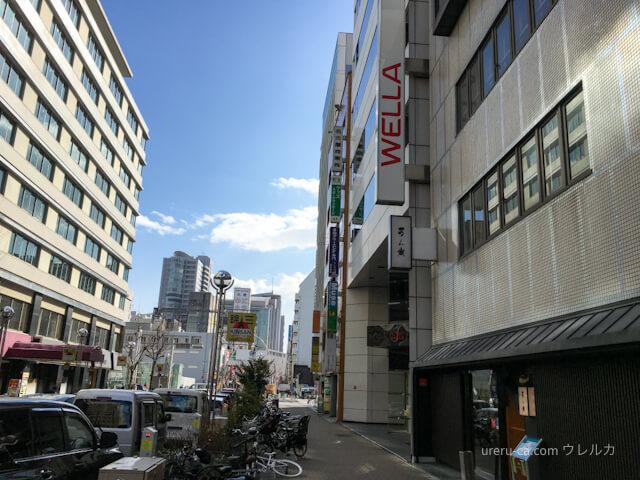 ゴリラクリニック名古屋栄院が入っているビルの全景