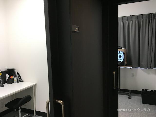ゴリラクリニック神戸三宮院のカウンセリング室の並び