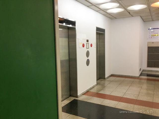 ゴリラクリニック神戸三宮院に行くためのエレベーター
