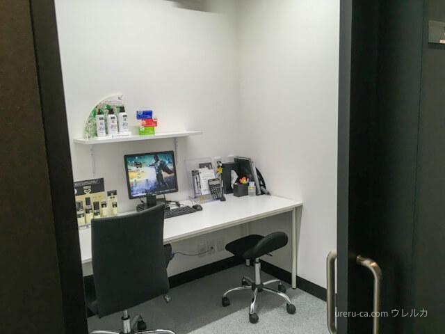 ゴリラクリニック神戸三宮院カウンセリング室